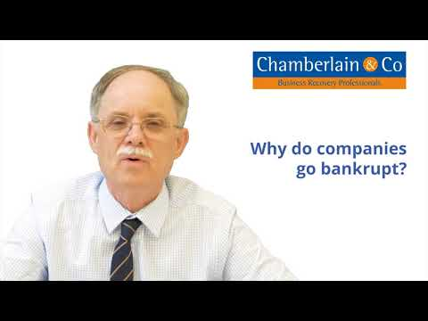 Why do companies go bankrupt?