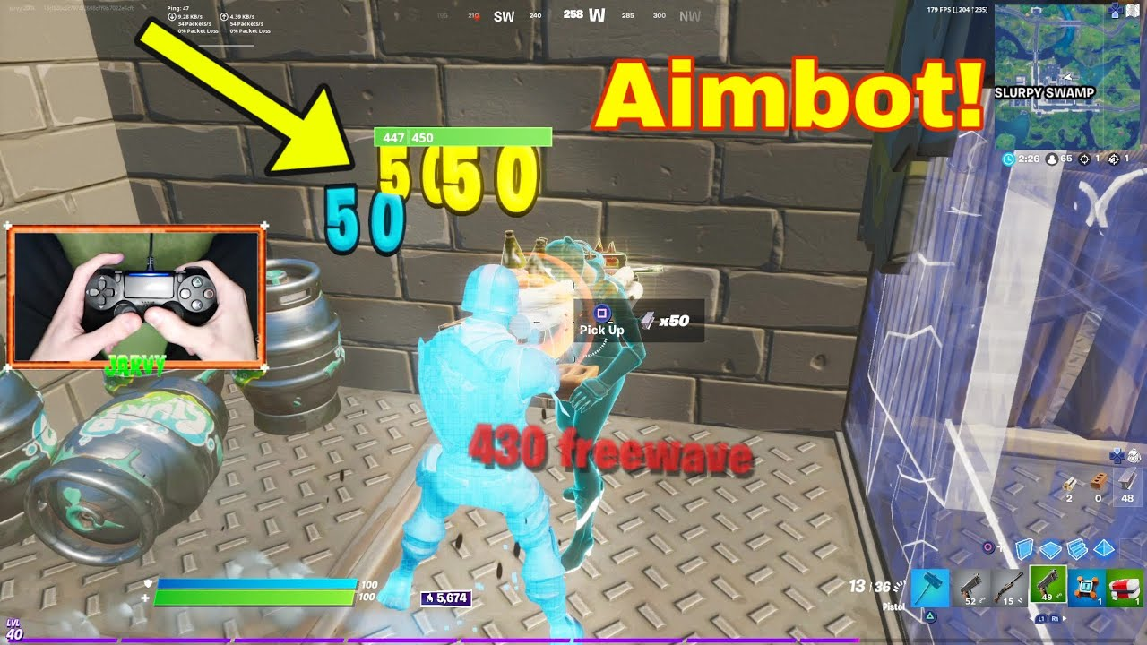 """""""MOOD"""" (But It's Aimbot on Linear) with PS4 Controller Handcam + Best Controller Settings for Aim"""