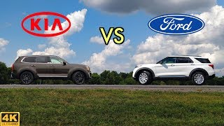NEWCOMER OR VETERAN? -- 2020 Ford Explorer vs. 2020 Kia Telluride: Comparison