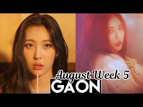 [TOP 100] Gaon Kpop Chart 2017 [Aug Week 5]