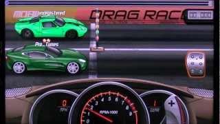 Repeat youtube video Drag Racing 14.011 Tune Aston Martin level 5 half mile