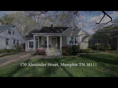 170 Alexander Street, Memphis TN 38111