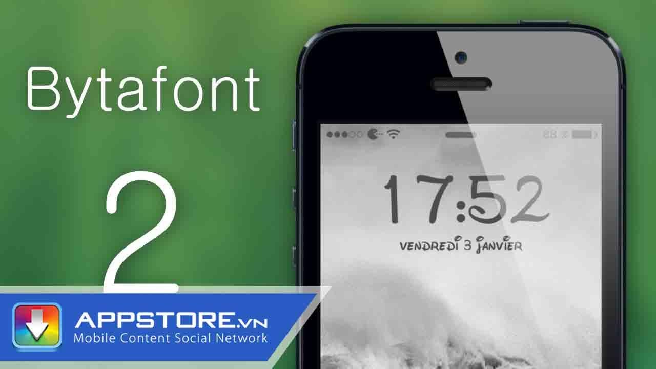 Đổi font chữ iphone không cần cydia   [Cydia Tweak] Hướng dẫn thay đổi Font chữ cho iDevies