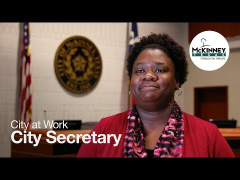 City at Work - City Secretary