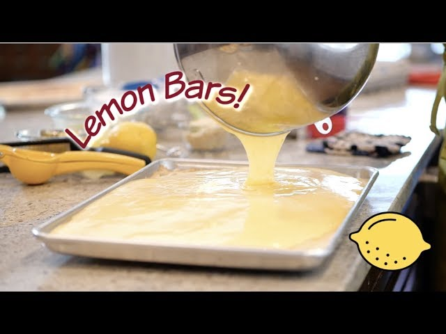 Baked By Betsy: Episode 5 - Lemon Bars