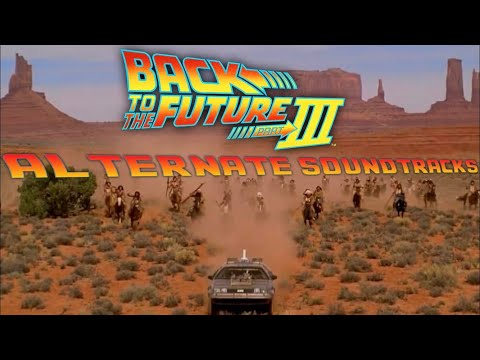 Back To The Future Part III - Drive In Scene With Alternate Soundtracks
