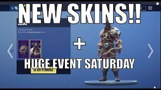 **NEW** NEW SKINS AND MAJOR LIVE EVENT ON SATURDAY AT 2 PM EST! FORTNITE ITEM SHOP JAN 17, 2019