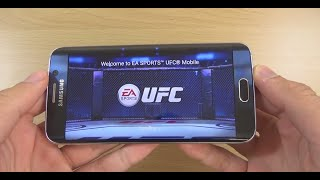 Samsung Galaxy S6 Edge Gaming Review - EA Sports UFC !