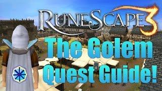 Runescape 3: The Golem Quest Guide 2014!
