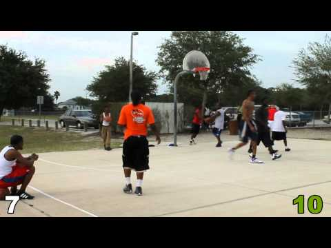 Providence Park Basketball - Full Game 16 from Beginning - slow motion all baskets