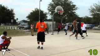 Providence Park Basketball - Full Game 16 from Beginning - slow motion all baskets