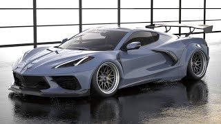 StreetHunter 2020 Corvette Widebody Reveal!