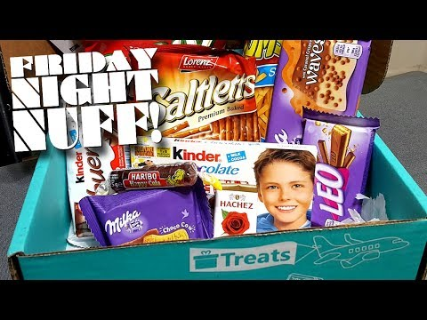 TRY TREATS: 'Germany Box' & Cards Against Humanity (5/18/18) │ Friday Night Nuff!