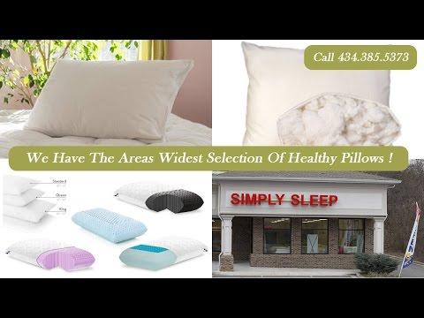 Natural Organic Latex Healthy Bed Pillows Simply Sleep Lynchburg VA