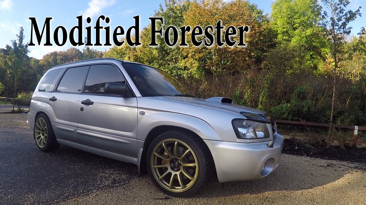 Subaru Forester Modified Review 330 Bhp Youtube