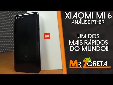 Xiaomi Mi6 - Um dos melhores do mundo! - Análise/Review (PT-BR)