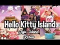 😺Tour of Hello Kitty island with Kids   Jeju Hello Kitty Cafe Family Vacation