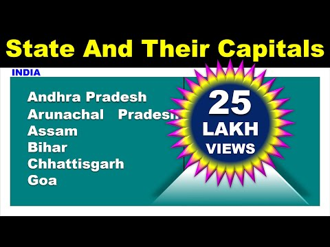 State And Their Capital || INDIA  || DAG Education ||