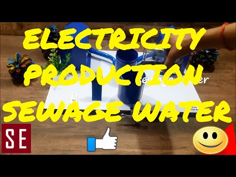 Electricity Production through Sewage water