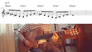 Giant Steps Licks and Ideas (Jazz Guitar Lesson 20)