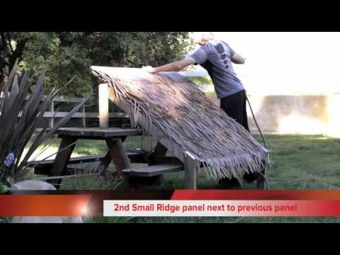 Synthetic Thatch Amp Artificial Thatch Roofing Tiki Shack