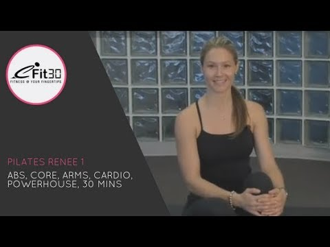 Pilates Renee, Abs, Core, Arms, Cardio, Powerhouse, 30 Mins