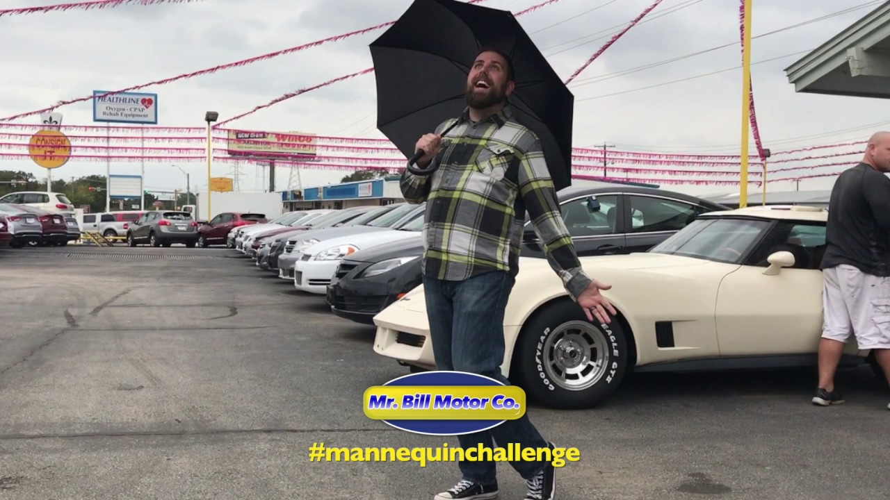 car dealership mannequin challenge mr bill motor co