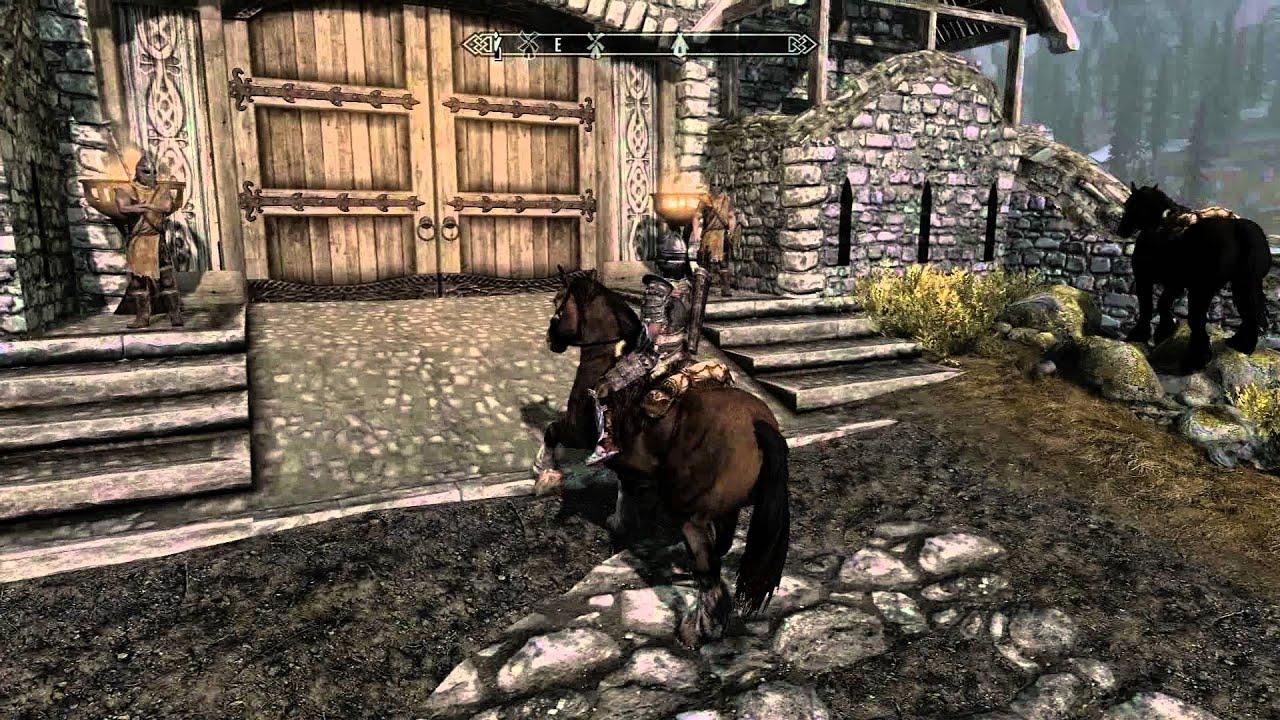 Skyrim: How To Get A Free Horse Near Whiterun  Pc Max Settings  Hd 1080p