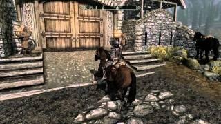Skyrim: How to get a Free Horse near Whiterun - PC Max Settings - HD 1080P