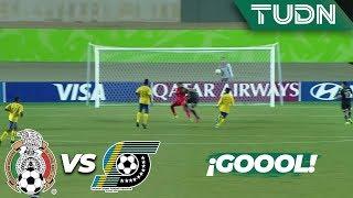 ¡Qué paliza! Llegó el sexto | México 6 - 0 Islas Salomón | Mundial Brasil Sub 17 - G-F | TUDN