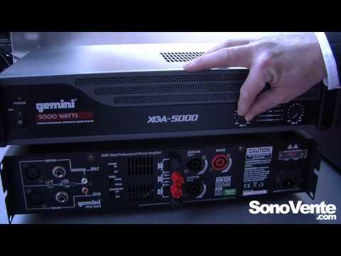 2000 Watt Power Amplifier Gemini Xga 2000 Doovi