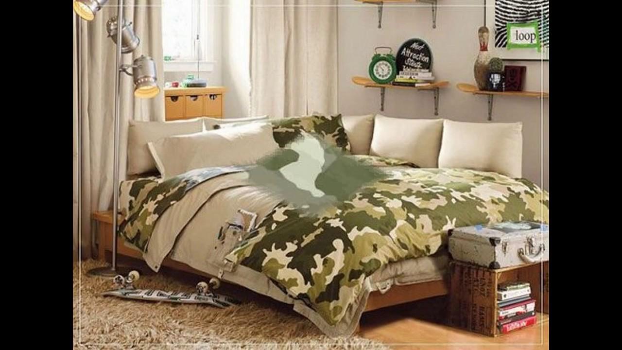 Decoraciones de dormitorio de camuflaje youtube - Decoraciones para dormitorios ...