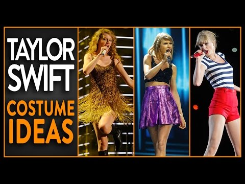 4 Easy Taylor Swift Inspired Halloween Costumes!