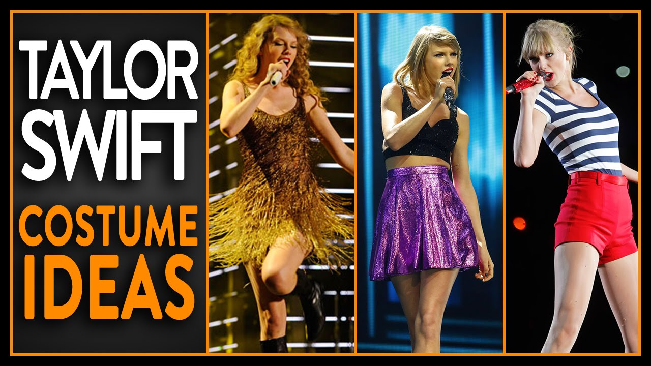 4 easy taylor swift inspired halloween costumes! - youtube