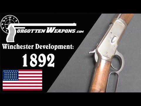 Download Winchester Lever Action Development: Model 1892