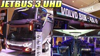TERBARU..!!! BUSWORLD INDONESIA 2019 | Review Bis VOLVO B11R Jetbus 3 UHD