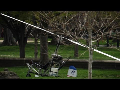Man Lands Gyrocopter On White House Lawn [Video]