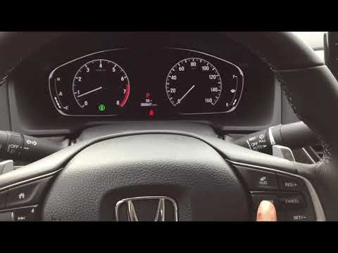 Touring Accord Presentation With Honda Sensing Demo