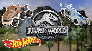 JURASSIC WORLD CHARACTER CARS | Hot Wheels