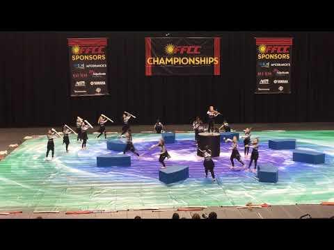 "Seabreeze High School, Winter Guard  show ""Transcendence"". 2019"