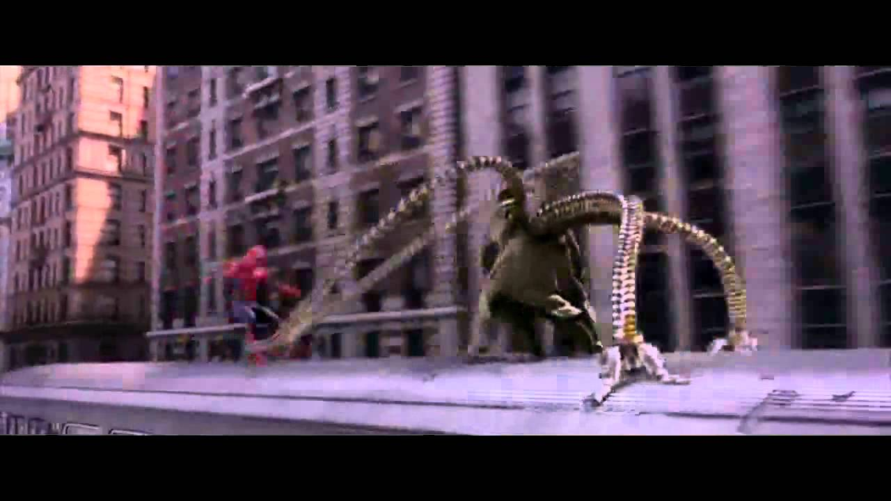 Spider-Man 2.1 Extended Train Fight Scene (HD) - YouTube Tobey Maguire