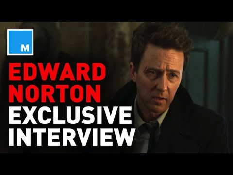 Edward Norton Talks 'Fight Club' and 'Motherless Brooklyn' | [EXCLUSIVE INTERVIEW]