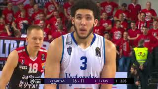 LiAngelo Ball goes off for 18 points against Lietuvos Rytas (Full Highlights)