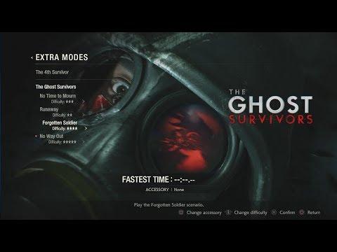 Resident Evil 2 REMAKE The Ghost Survivors - Forgotten Soldier