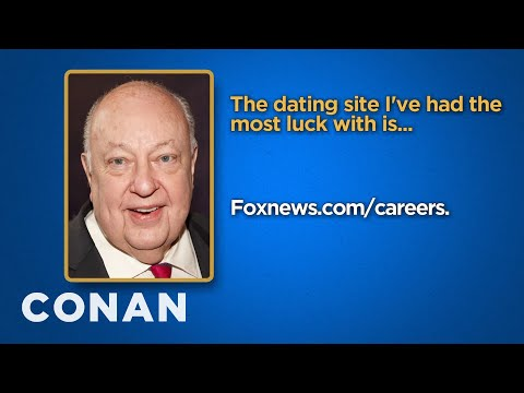 Celebrity Survey: Roger Ailes, Dalai Lama Edition  - CONAN on TBS