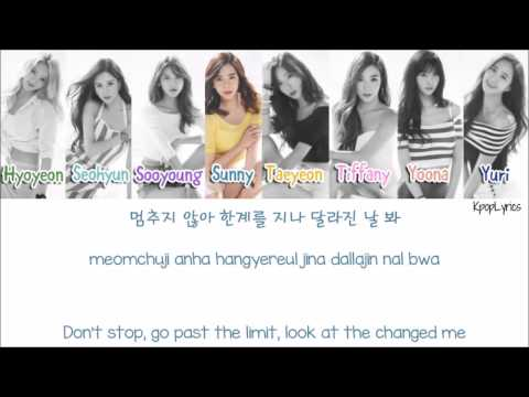 Girls Generation - Catch Me If You Can [Eng/Rom/Han] Picture + Color Coded HD