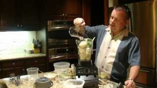 Vitamix Recipe For A Great Soup.  The Secret Ingredient Is Artichoke-jalapeno Dip.