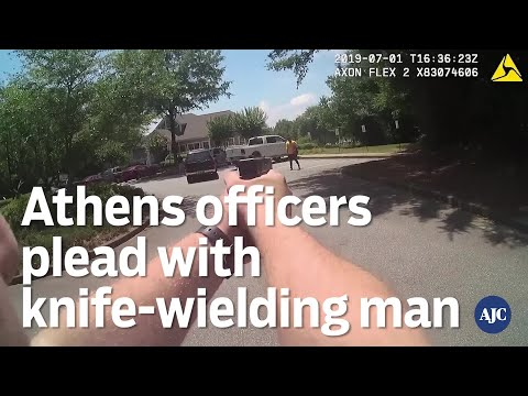 Mike Broomhead - Cops Plead With Suspect To Put The Knife Down