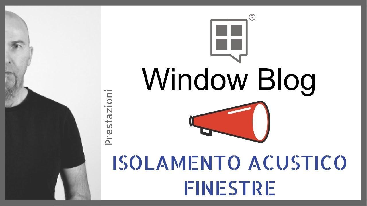 Isolare Acusticamente Una Finestra isolamento acustico finestre: il silenzio dentro casa!