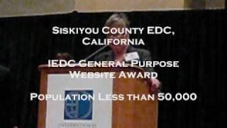 Siskiyou County, CA - Economic Development Website Award